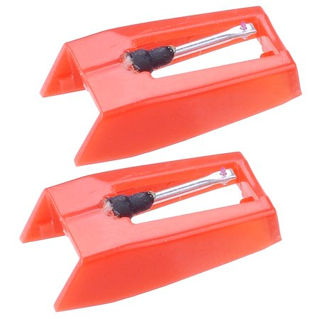yescom pack of 2 replacement stylus turntable needle for vinyl record player ruby tipped. Black Bedroom Furniture Sets. Home Design Ideas