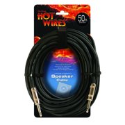 On-Stage SP14-50 14AWG Speaker Cable (50', QTR-QTR)