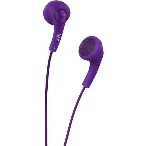 JVC HAF150V Gumy Earbuds (Grape Violet)