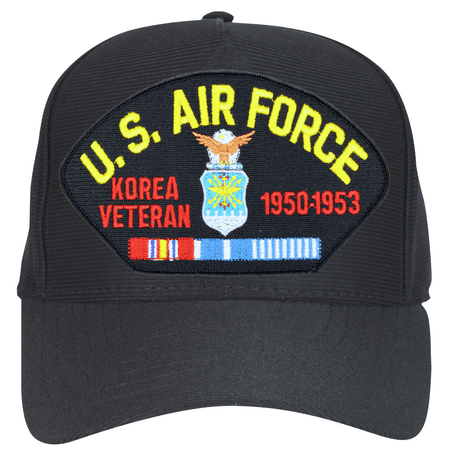 Air Force Korea Veteran 1950-1953 Emblematic Ball Cap Hat