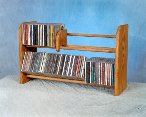 The Wood Shed 201 L Long Cd Rack Clear Walmartcom