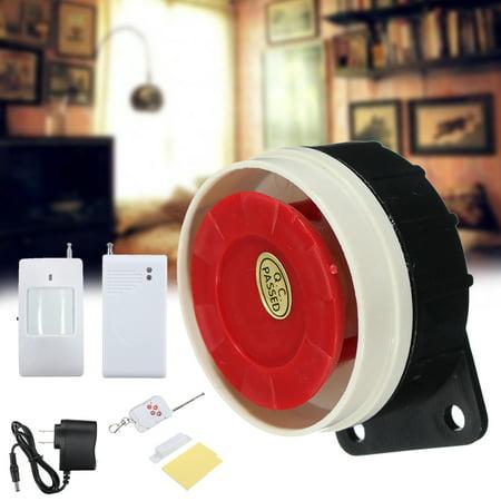 Wireless Home Window Door Remote Control Siren Pir Motion