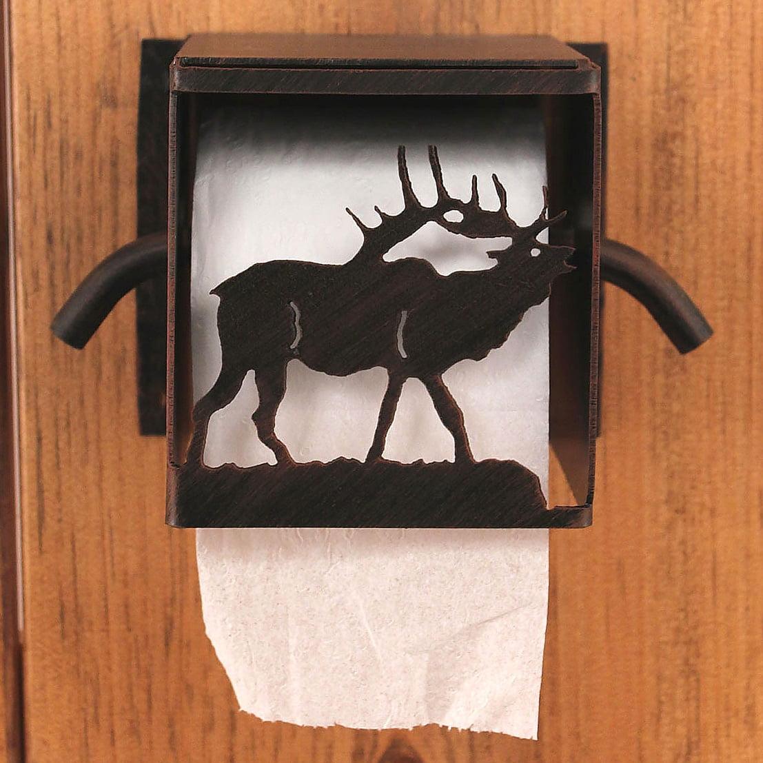 Iron Elk Toilet Paper Box