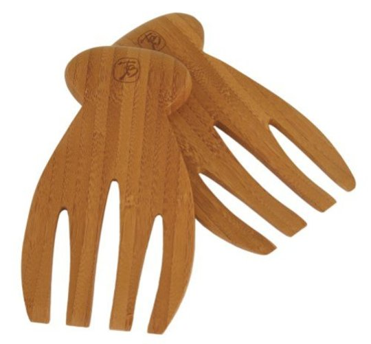 Totally Bamboo Salad Hands Multi-Colored