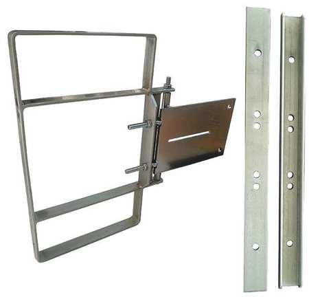 Adjustable Safety Gate,19in to 21-1/2in CONDOR 31TT59