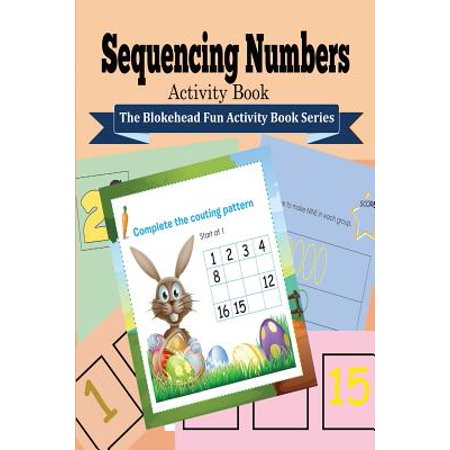 Sequencing Numbers Activity Book