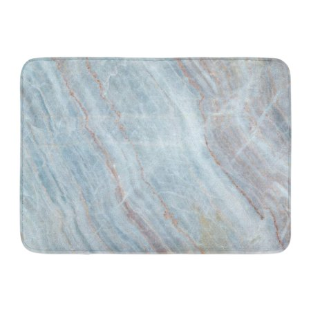 GODPOK Antique Black Abstract White Marble Pattern with High Resolution Gray Aged Architecture Rug Doormat Bath Mat 23.6x15.7 inch