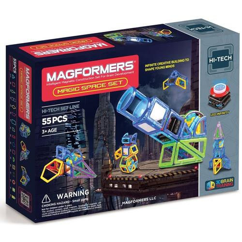 Magformers 63140  Magic Space 55pc  Set