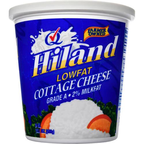 Hiland Grade A 2% Milk Fat Cottage Cheese, 24 Oz.