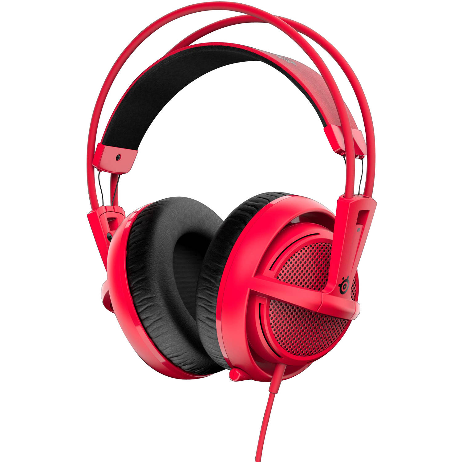 SteelSeries Siberia 200 Headset, Forged Red
