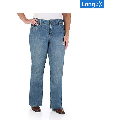 Riders by Lee Womens Plus-Size SlimNet Slimming Bootcut ...