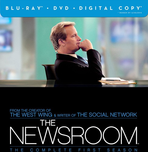 The Newsroom: The Complete First Season (Blu-ray + DVD + Digital Copy)