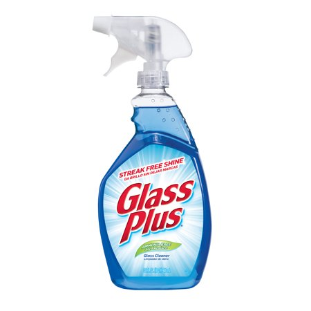 Glass Plus Glass Cleaner, 32 Ounce, Multi-Surface Glass Cleaner
