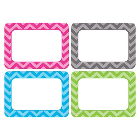 CHEVRON NAME TAGS - MULTI PACK - Halloween Dr Name Tags