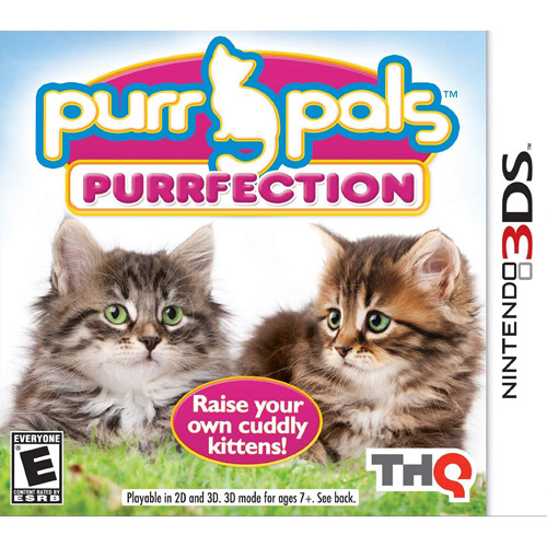 Purr Pals: Perfection (Nintendo 3DS)