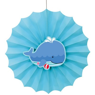 Under the Sea Pals Paper Fan - Under The Sea Paper