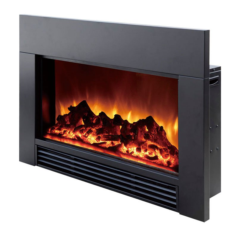 Dynasty Electric Fireplace Insert To Fill Space From Wood Fireplace Regard To Fireplace Heater Insert