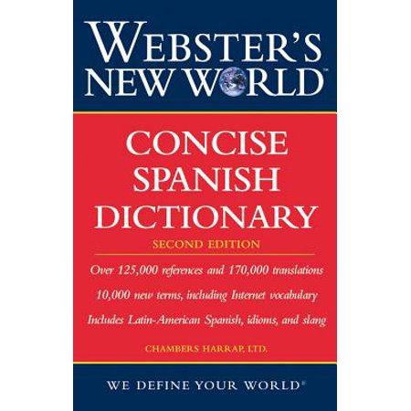 Webster's New World Concise Spanish Dictionary, Second