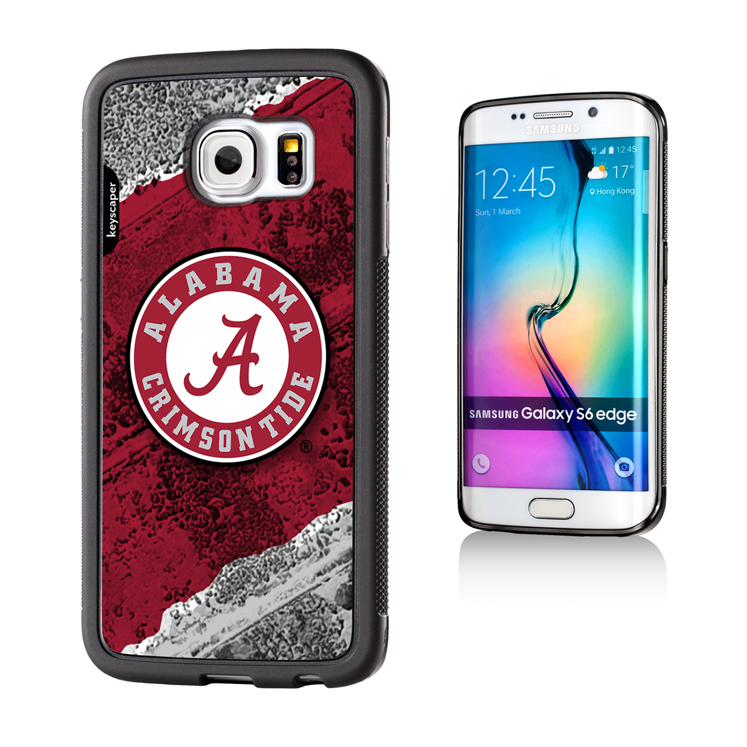 Alabama Crimson Tide Samsung Galaxy S6 Edge Bumper Case