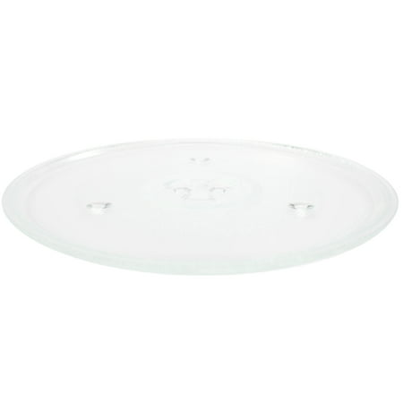 """2-Pack Replacement Avanti MW912 Microwave Glass Plate - Compatible Avanti 252100500497 Microwave Glass Turntable Tray - 10 1/2"""" (270mm) - image 1 de 4"""