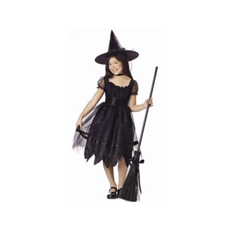 Child's Enchanted Black Witch Costume