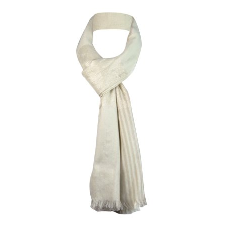 Style & Co. Women's Striped Shimmer Wrap Scarf