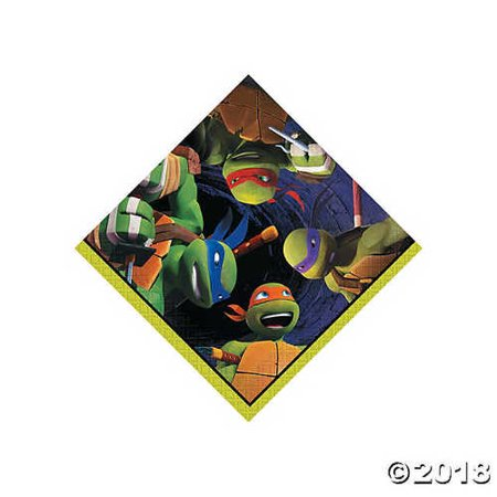 Teenage Mutant Ninja Turtles Beverage Napkins](Ninja Turtle Napkins)