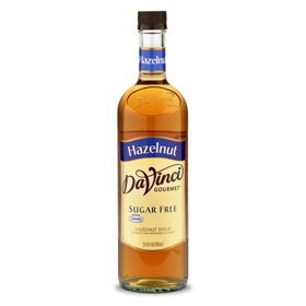 Da Vinci Sugar Free Syrup  Hazelnut  Toasted   750 Ml  Glass