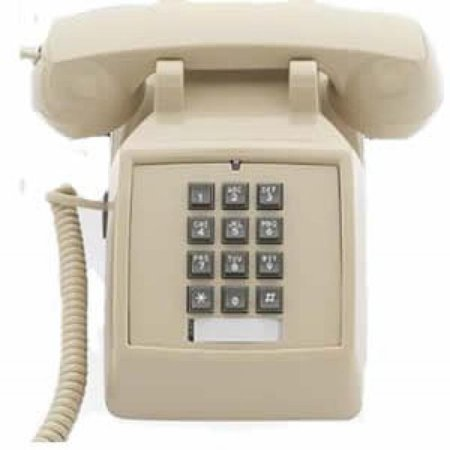 Scitec 2510D-E Ash (No MW) (Catalog Category: Corded Telephones / Basic Telephones)