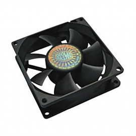 Cooler Master USA R4-S8R-20AK-GP Cooler Master Rifle Bearing 80mm Silent Cooling Fan for Computer Cases and CPU Coolers - 80x80x25 mm, ~ 2000 RPM speed, ~28.9 CFM air flow, 20.9