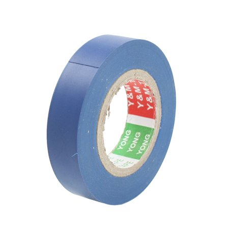 Unique Bargains 49Ft Long 16mm Width Blue PVC Adhesive Electrical Insulation Tape
