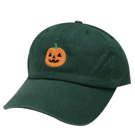 City Hunter C104 Halloween Pumpkin Cotton Baseball Dad Caps 16Colors (Dark Green)](Halloween City Printable Coupons)