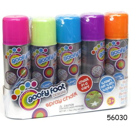 Spray Chalk, 5 Pack