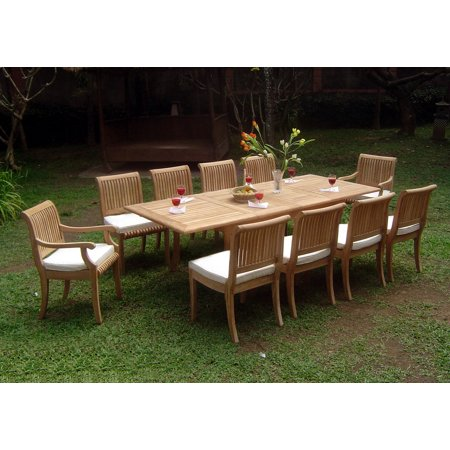 Teak Dining Set:10 Seater 11 Pc - 94