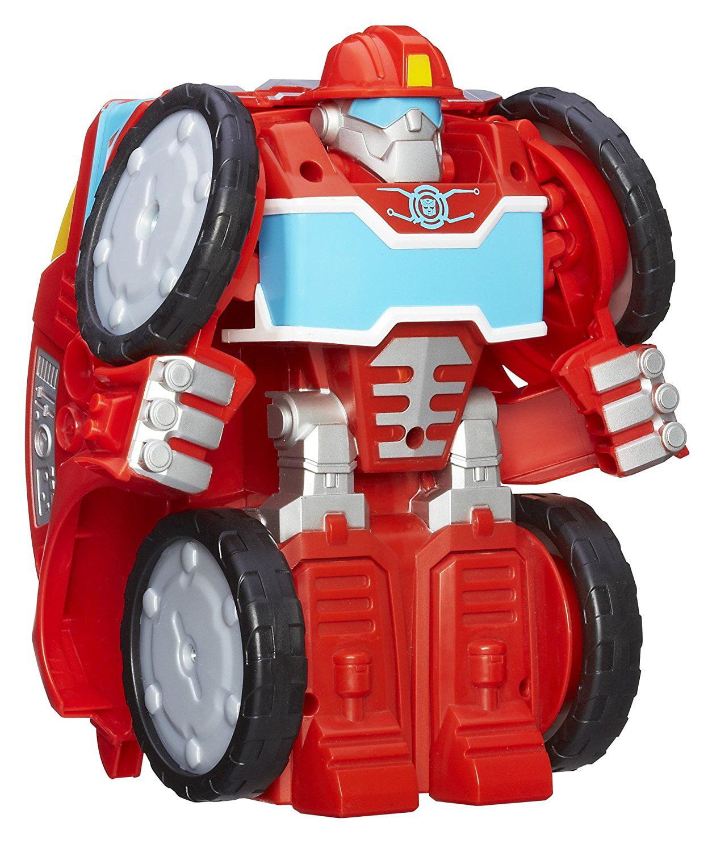 Playskool Heroes Rescue Bots Flip Changers Heatwave the Fire-Bot Figure, Kid-sized Heatwave the Fire-Bot... by