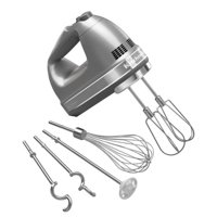 KitchenAid 9-Speed Hand Mixer (KHM926CU), Contour Silver