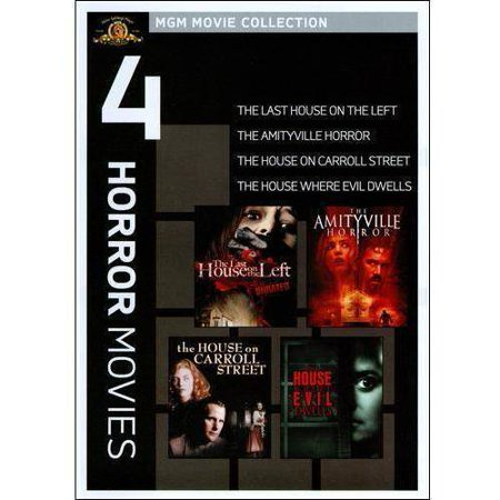 MGM Movie Collection: 4 Horror Movies - The Last House On The Left / The Amityville Horror / The House On Carroll Street / The House Where Evil Dwells (Widescreen)