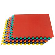 We Sell Mats Anti-Fatigue Interlocking Flooring Set 6 Counts