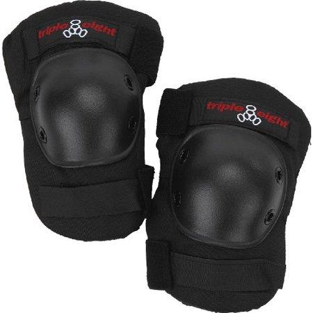triple 8 saver series kneesaver (black, one size fits all)