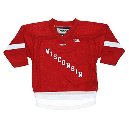 Ncaa Replica Uniform (Reebok NCAA Toddler Wisconsin Badgers Replica Hockey Jersey)