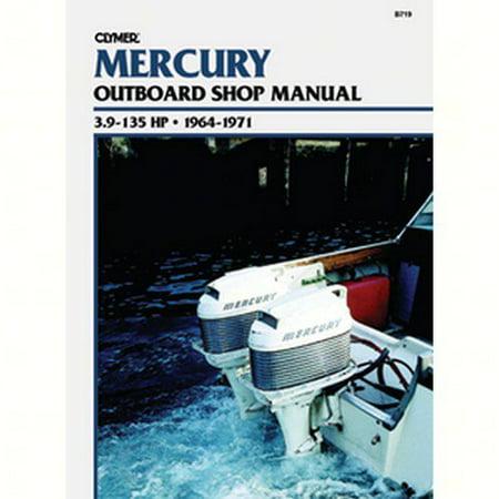 Clymer Manuals B712  B712; Mercury 4-Stroke Outboard 75-225 Hp 2001-2003-Service Repair Manual 1989 Outboard Repair Manual