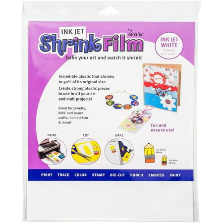 Inkjet Shrink Film 8.5