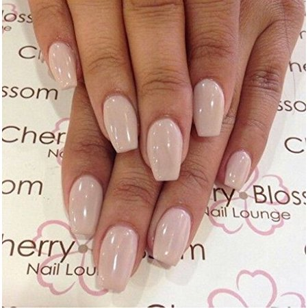 Makartt 500pcs Short Coffin Nails Clear Ballerina Nail ...
