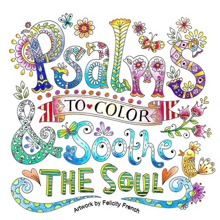 Psalms to Color & Soothe the Soul ()