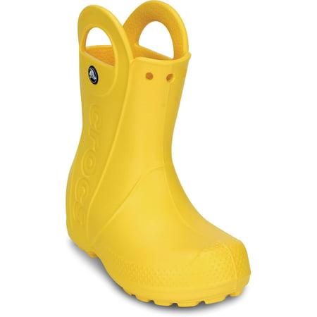 Crocs Unisex Child Handle It Rain Boot (Ages 1-6) (Toddler Croc Rainboots)