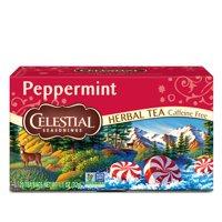 Celestial Seasonings Peppermint Herbal Tea, 20 Count Box