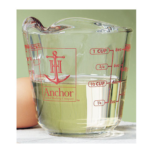 Anchor Hocking Measuring Cup (Set of 4) by Anchor Hocking
