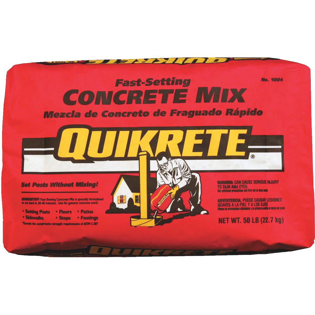 Quickrete Fast-Setting Concrete Mix by Quikrete Companies
