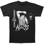 Adicts Men's  Joker In The Pack Slim Fit T-shirt Black