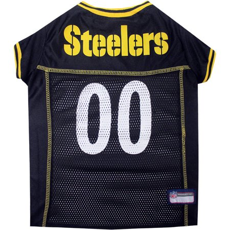 - Pets First NFL Pittsburgh Steelers Pet Jersey